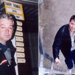 Bookmaker Gary Thomas and Racecaller Nigel Killop