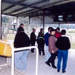 The betting ring in the early years