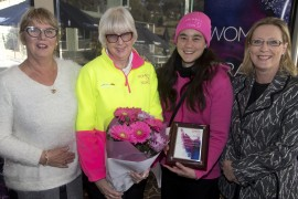 Honouring Women on Track
