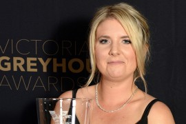 Ashlee Terry receives Ned Bryant 'Silver Fox' Award