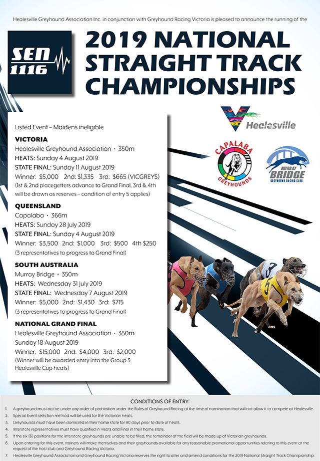 SEN National Straight Track Championships